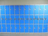 Armario plástico de 3 ABS de la puerta para el centro de la gimnasia/de aptitud/la escuela /Club