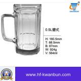 Ясный стеклянный Tableware Kb-Hn096 чашки выпивая стекла кружки пива чашки