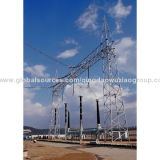 La producción de la estructura de acero de alta calidad