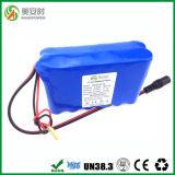 12 cellen 18650 3s4p het Pak van de Batterij