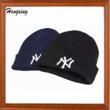 Chapéu feito malha acrílico de Ny do chapéu do inverno da promoção