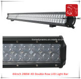 LED Car Light van 44inch 288W 4D Double Row LED Light Bar Waterproof voor SUV Car LED van Road Light en LED Driving Light