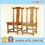 Banchetto di legno della mobilia dell'hotel che pranza presidenza