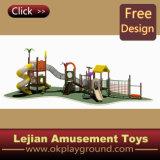 Equipement de plein air de haute qualité ISO9001 enfants en plastique (X1228-6)