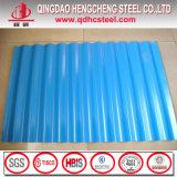 PPGI strich Stahl galvanisiert gerunzelt Roofing Blatt vor