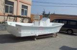 Barco de pesca barato de la fibra de vidrio del precio del diseño de Liya los 4-8m FRP con la cortina