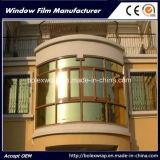 Отражательная пленка здания, солнечная пленка, пленка подкраской окна, отражательная пленка для здания, пленка окна изоляции жары