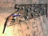Fermeture en fer forgé à haute qualité en fer forgé