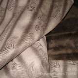 Бронзированная ткань кожи полиэфира замши с толщиной затыловкой ватки