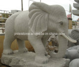 Personalizzare Natural Granite Various Stone Animal per il giardino Ornament