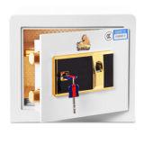 Mini coffre-fort blanc d'hôtel de l'empreinte digitale Z30
