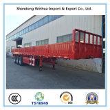 화물 수송을%s 3개의 차축을%s 가진 반 40t 측벽 트럭 트레일러