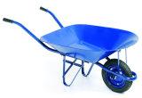 Aufbau-Hilfsmittel galvanisierte Tellersegment-Schubkarre mit pneumatischem Rad