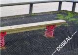 Los colores negros de la hoja del caucho de nitrilo para el suelo