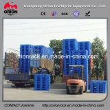 L'HDPE ricicla la griglia nove piedi di pallet di plastica di bassa potenza