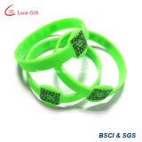 Bracelet fait sur commande de silicone pour la promotion