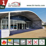 ドームの屋根が付いている金属フレームの卸売のゆとりの上のテント