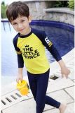 &Lycra Divingsuit втулки Breathable Swimwear детей длиннее