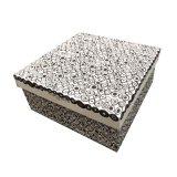 Caja de papel hecho a mano elegante / cosmética / caja de regalo