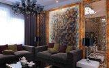 Azulejo amarillento del mármol del color de la decoración de la pared (600*120)