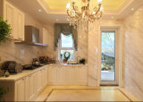 2017 L modernos mobília de madeira branca Yb1706164 do gabinete de cozinha do estilo