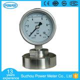 indicateur de pression de membrane de 100mm avec le certificat de la CE