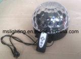 Luz mágica teledirigida del disco de la luz/LED de la bola del LED