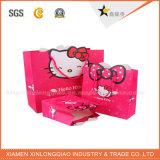 Bolso de papel respetuoso del medio ambiente a todo color de la bolsa del embalaje de papel de la alta calidad