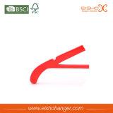 La alineada de boda roja de China arropa la percha de madera del juego (WRS00001)