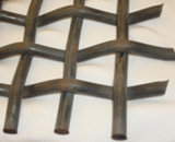 長方形の開始によってひだを付けられる金網