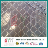 El PVC barato de la alta calidad cubrió la cerca galvanizada de la conexión de cadena del plástico de vinilo