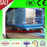 De mobiele Machine van de Zuiveringsinstallatie van de Olie van de Transformator, Machine van de Olie van het Afval de Recyclerende/Filtrerende