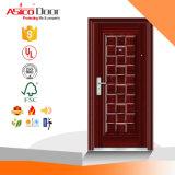 Нормальная стальная дверь обеспеченностью с высоким качеством (стандарт ISO9001)