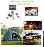 Mini bewegliches angeschaltenes LED-helle Installationssatz-SolarSolarStromnetz für Hauptbeleuchtung