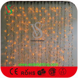 PVC Cable Colorful LED Curtain Light for Christmas