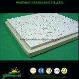 Carreaux de plafond en fibre minérale / Panneaux de plafond en fibre minérale / Panneau de plafond en fibres minérales 595X595mm