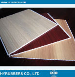 Китайским деревянным прокатанная зерном панель потолка PVC