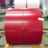 Gi color recubierto prepintada de acero galvanizado bobina PPGI