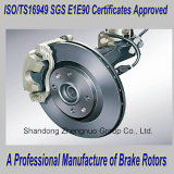Disco europeu do freio dos carros, rotores do freio para Citroen