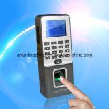De biometrische Opkomst van de Tijd van het Toegangsbeheer van de Vingerafdruk (F09)