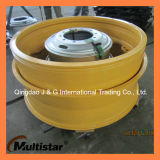 OTR 강철 바퀴는 49-19.5/4.0 Komatsu 785-7 바퀴 덤프 트럭 바퀴에 테를 단다