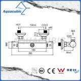 Robinet thermostatique chromé Anti-Scald de salle de bains en laiton (AF4112-7)