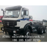 북쪽 벤츠 6X4 340HP 트럭 트랙터 Beiben 트랙터 트럭