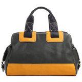 Zwei Ton-übergrosse Beutel-Form-Frauen-Handtasche
