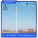 De hete ONDERDOMPELING galvaniseerde de Enige die Toren van het Staal van de Telecommunicatie van de Buis in China met de Lange Tijd van de Dienst wordt gemaakt