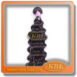 Просмотрение верхней части волос девственницы бразильское, бразильские волосы 14 дюйма