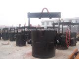 6 Tonnen manuelle Eisen-Schöpflöffel-Verkaufs-heiße Verkaufs-Eisen-Schöpflöffel-Lieferanten-