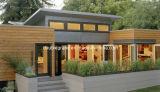 Полуфабрикат живущий дом, стена панели сандвича и дом крыши