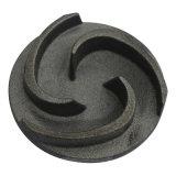 中国の製造業者によってカスタマイズされる黒い酸化物の丸型の鋳造の金属部分