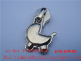 Zipper en alliage de zinc Puller Metal Zipper Puller Slide pour Outdoor Garments